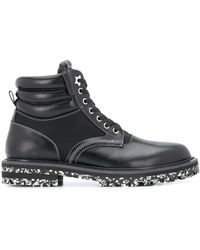 Jimmy Choo Bottines lacées Odin - Noir