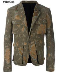 Haider Ackermann - 'raquel' Military Jacket - Lyst