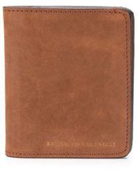 Brunello Cucinelli 二つ折り財布 - ブラウン