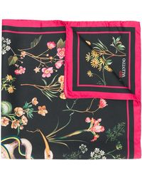 RED Valentino - Floral Scarf - Lyst