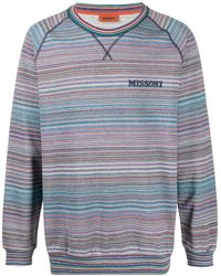 Missoni ロゴ スウェットシャツ - マルチカラー