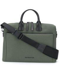 Troubadour Портфель Pathfinder Slim - Зеленый