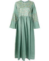 Bambah Lilly フローラル ドレス - グリーン