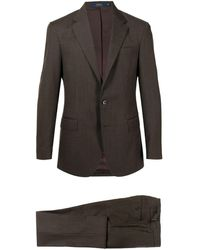 Polo Ralph Lauren ウール シングルスーツ - ブラウン