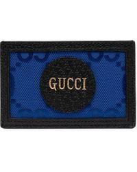 Gucci Off The Grid GG Pasjeshouder - Blauw