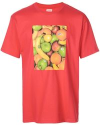 Supreme Fruit T-shirt - Red