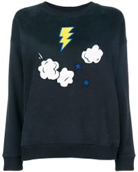 Chinti & Parker - Embroidered Long-sleeve Sweater - Lyst