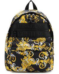 Versace Jeans Couture Рюкзак С Принтом Barocco - Черный