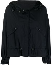 Moncler Albireo Hooded Jacket - Black