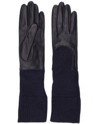 Gala Gebreide Handschoenen - Blauw