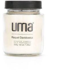 UMA | Raquel Davidowicz アロマキャンドル - ホワイト