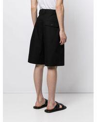 Jacquemus Knee-length Cargo Shorts - Black
