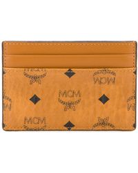 MCM ロゴプリント カードケース - マルチカラー