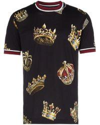 T Shirt Partire € Di 27 Uomo Lyst A Dolceamp; Gabbana Da 8wPkOn0