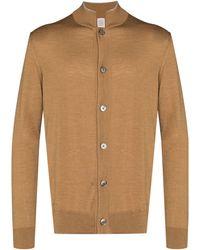 Eleventy Oversized Buttoned Cardigan - ブラウン