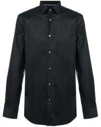 BOSS - Long-sleeve Fitted Shirt - Lyst
