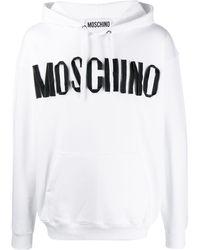 Moschino ロゴプリント パーカー - ホワイト