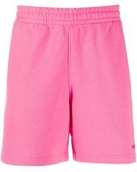 adidas Originals ロゴ トラックショーツ - ピンク