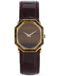 Piaget Наручные Механические Часы Pre-owned 25 Мм 1970-х Годов - Коричневый