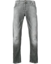 Dondup - Distressed Slim-fit Jeans - Lyst
