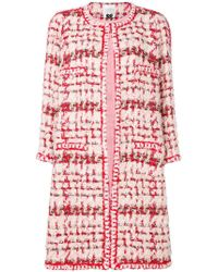Edward Achour Paris - Mid-length Tweed Coat - Lyst