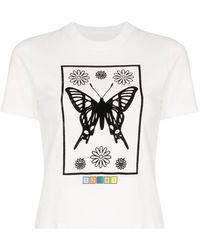 Maisie Wilen T-shirt Mona Lisa - Bianco