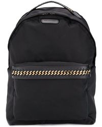 Stella McCartney Falabella Backpack - Black