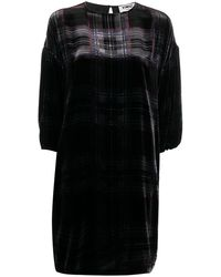 YMC - チェック ドレス - Lyst