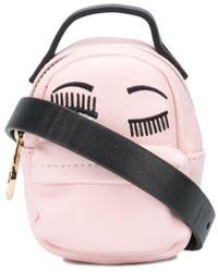 Chiara Ferragni Мини-сумка Flirting С Вышивкой - Розовый