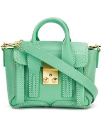 3.1 Phillip Lim Mini Pashli Bag - Green