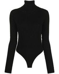 Nanushka Peri Knitted Body - Black