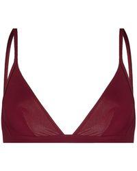 Isabel Marant Triangle-cup Bikini Top - Red