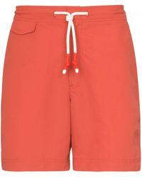 Orlebar Brown Bañador Berry Standard - Rojo