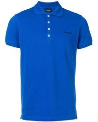 DIESEL ポロシャツ - ブルー