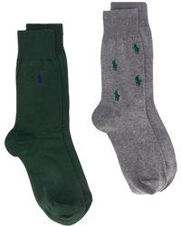 Polo Ralph Lauren Sokken Met Geborduurd Logo - Groen
