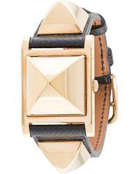 Hermès Medor Armbanduhr - Schwarz
