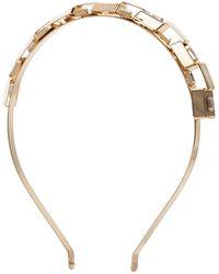 Rosantica Gold-tone Crystal Headband - Metallic