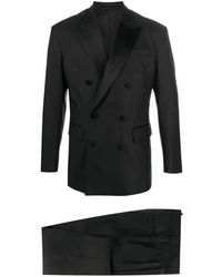 DSquared² Anzug mit steigendem Revers - Schwarz