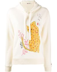 Ports 1961 Embroidered Hoodie - Multicolor