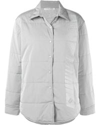T By Alexander Wang Giacca trapuntata - Grigio