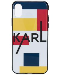 K/Ikonik Cover Iphone 8+  Collezioni Karl Lagerfeld  By Karl