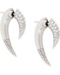Shaun Leane 'talon' Diamond Earrings - Metallic