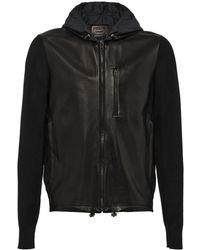 Prada Knitted Sleeves Jacket - Zwart