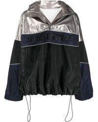 Juun.J Metallic-tone Sport Jacket - Black