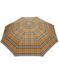 Burberry Trafalgar Checked Umbrella - Multicolour