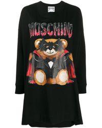 Moschino - Dracula Bear Tシャツワンピース - Lyst