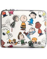 Marc Jacobs Кошелек С Клапаном Из Коллаборации С Peanuts - Белый