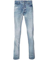 John Elliott - Stonewashed Skinny Jeans - Lyst