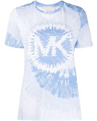 MICHAEL Michael Kors タイダイ ロゴ Tシャツ - ホワイト