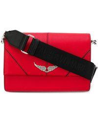 Zadig & Voltaire Lolita Cross Body Bag - Red
